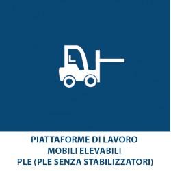 Piattaforme di Lavoro mobili Elevabili – PLE (PLE senza stabilizzatori)