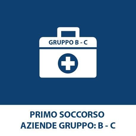 Primo soccorso – (Aziende Gruppo B-C)