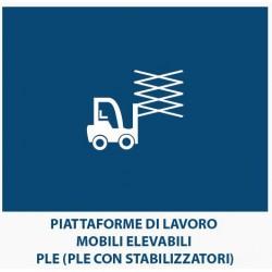 Piattaforme di Lavoro mobili Elevabili – PLE (PLE  con stabilizzatori)