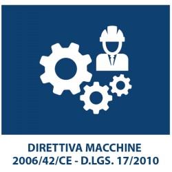 La Direttiva Macchine  ( 2006/42/CE - D.LGS. 17/2010)