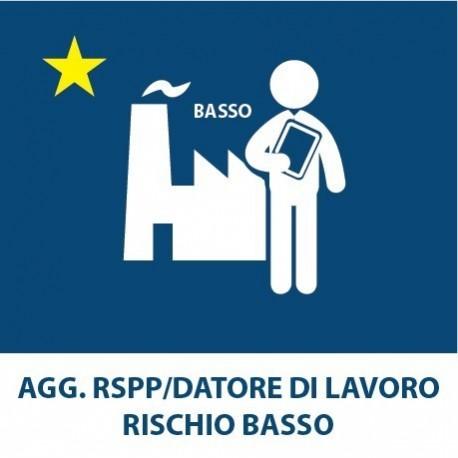 AGG. RSPP – Datore di lavoro R. Basso