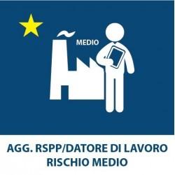 AGG. RSPP – Datore di lavoro R. Medio