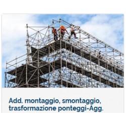 Agg. Montaggio e smontaggio Ponteggi - Pimus
