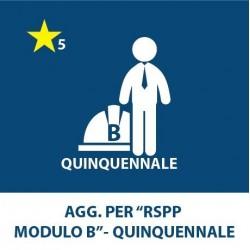 Aggiornamento RSPP (1, 2, 6, 8, 9) – Quinquennale