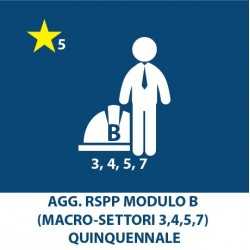 Agg. RSPP (3, 4, 5, 7) – Quinquennale