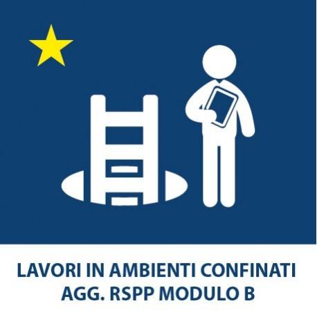 Lavori in ambienti confinati Agg. RSPP Modulo B