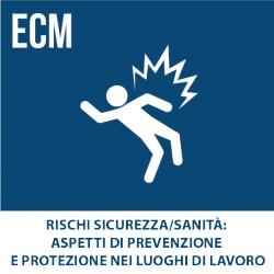 Rischi Sicurezza/Sanità: Aspetti di prevenzione e protezione nei luoghi di lavoro