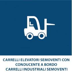 Carrelli elevatori semoventi con conducente a bordo Carrelli industriali semoventi